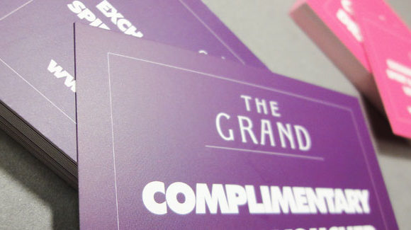 The Grand Business Cards