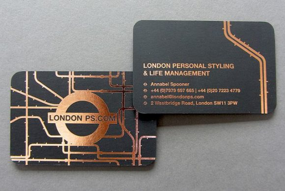 London PS Business Card