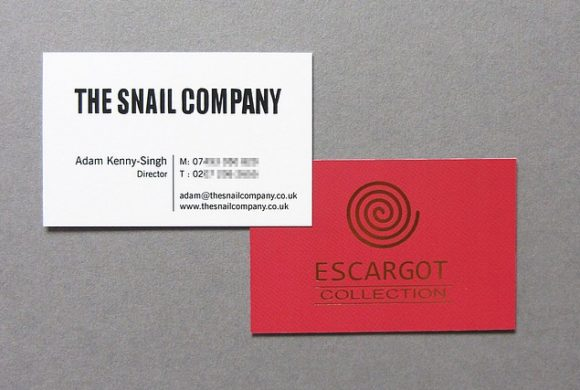 The Snail Company Business Card
